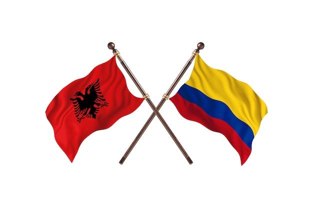 알바니아 대 콜롬비아 투 플래그