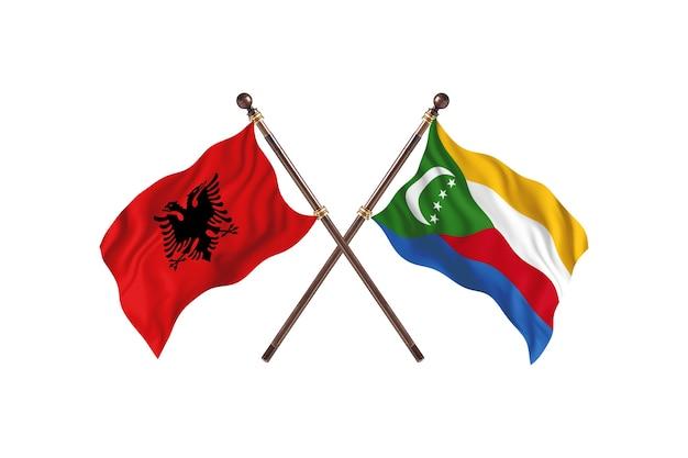 알바니아 대 코모로 투 플래그