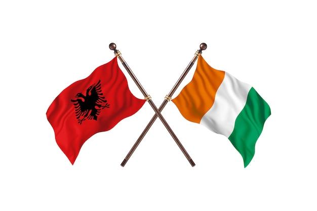 알바니아 대 코트디부아르 투 플래그