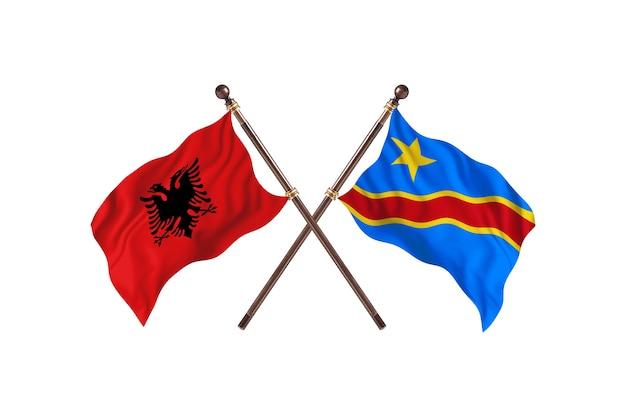 알바니아 대 콩고민주공화국 투 플래그