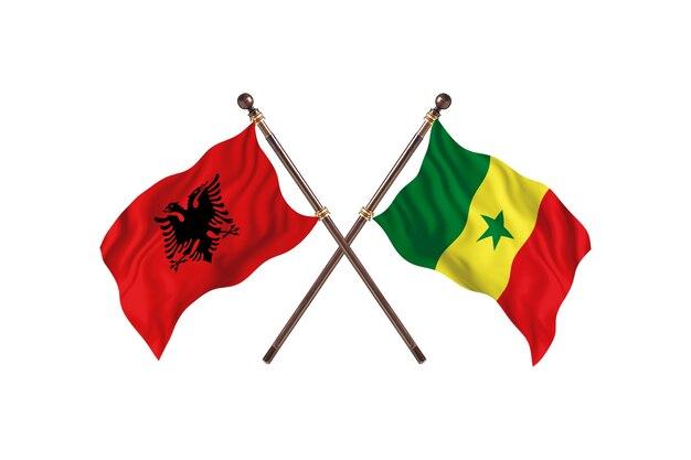 알바니아 대 세네갈 투 플래그