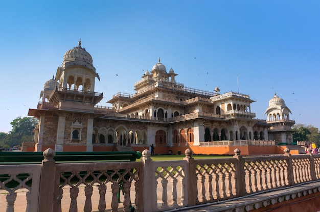 Albert hall - central museum in jaipur, india