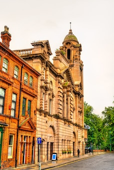 The albert hall, a historic building in nottingham  east midlands, england