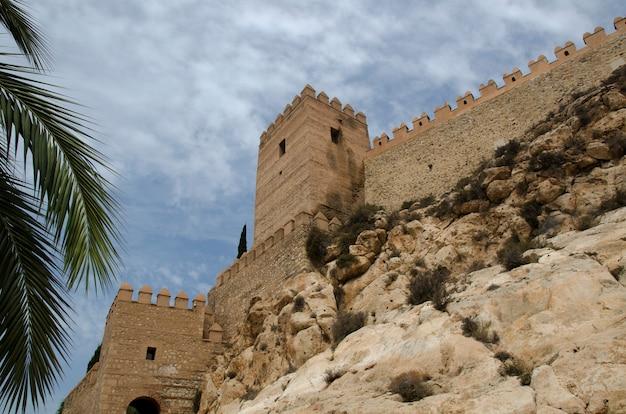 스페인 알메리아에 있는 알메리아의 알카사바