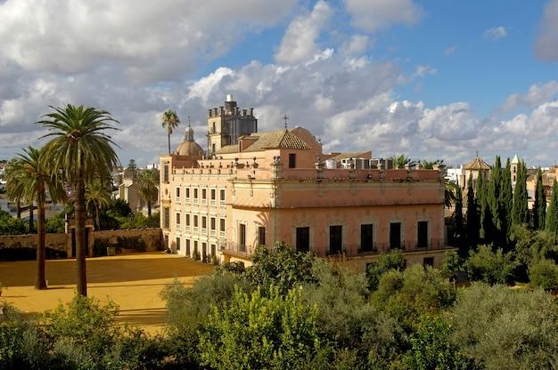 Alcazar of jerez de la frontera,cadiz province, andalucia, spain