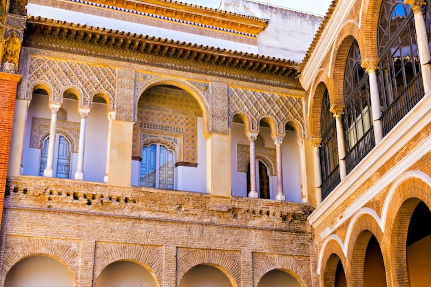 Alcazar of seville, andalusia, spain