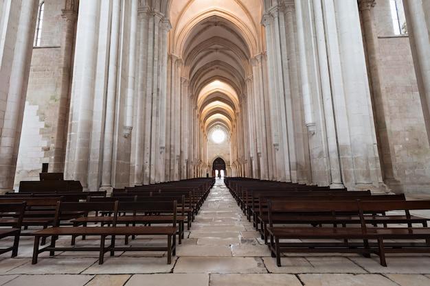 Alcobaca monastery interior