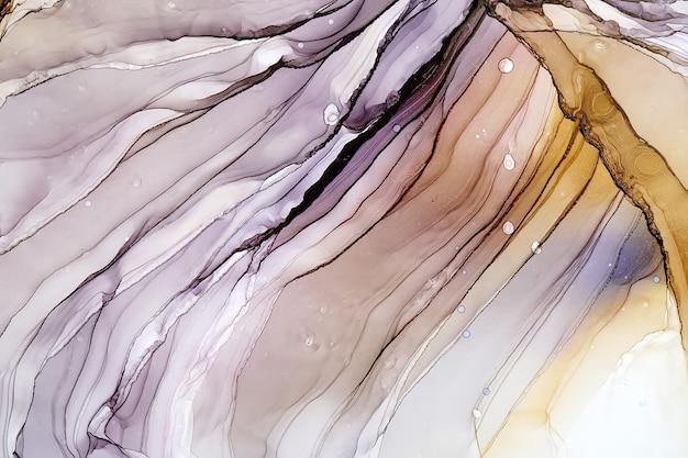 Алкогольные чернила абстрактные текстуры, макро