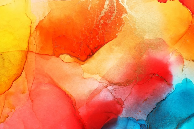 Alcohol ink abstract texture