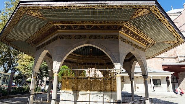 Альков в султанахмете, стамбул, турция.
