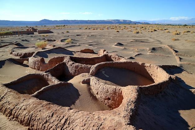Aldea de tulorの遺跡