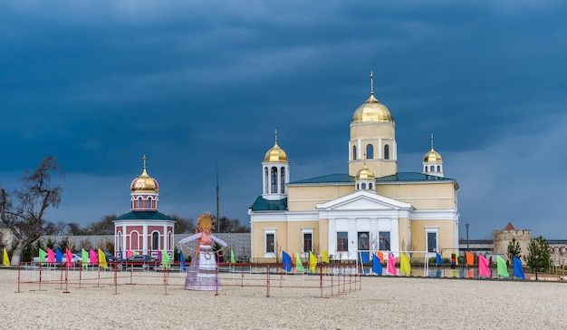 Alexander nevsky church in bender, transnistria