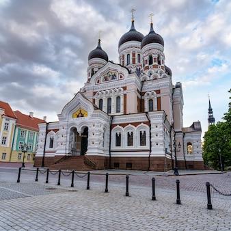 탈린의 알렉산더 넵스키 정교회 대성당. 에스토니아.