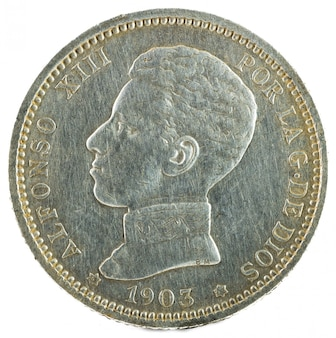 Alfonso xiii obverse