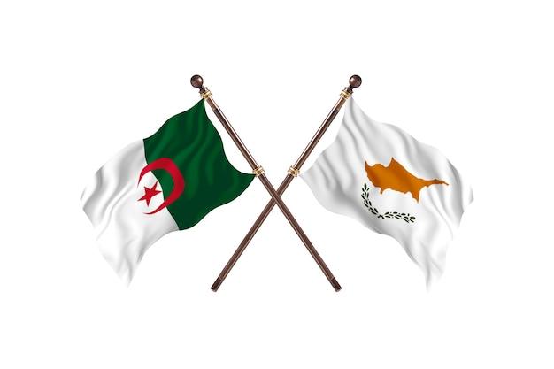 Algeria versus cyprus two flags