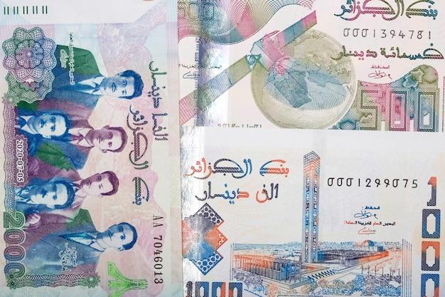 Algerian dinar a business background