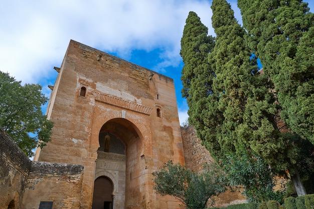 Alhambra puerta de la justicia in granada