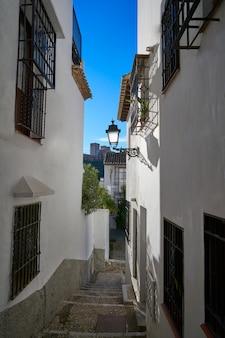 Alhambra view from albaicin granada spain
