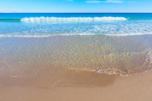 Alicante san juan beach beautiful mediterranean spain