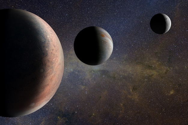 Alien planets in the outer space