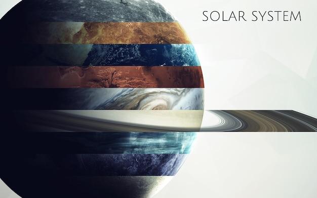 Все планеты солнечной системы в одном