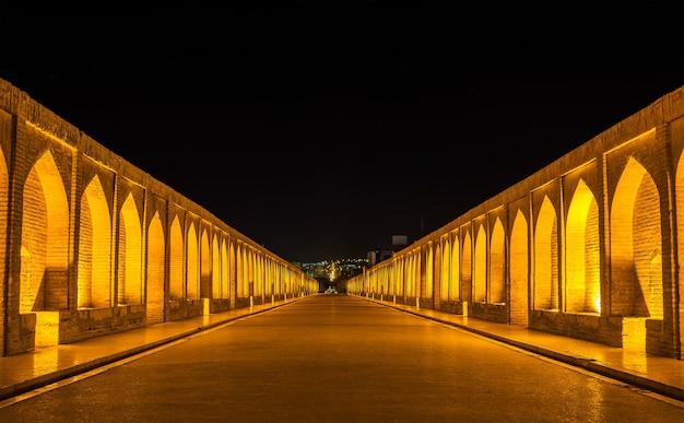 이란 이스파한의 알라 베르디 칸 다리 (si-o-seh pol)
