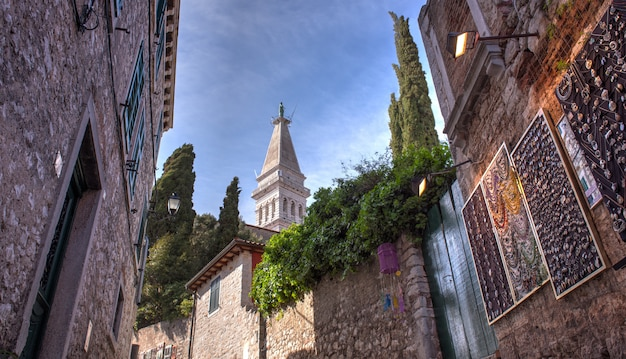 Alley of rovinj