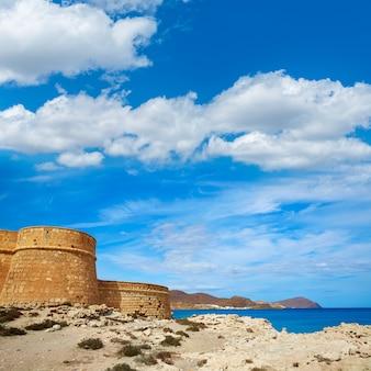 Almeria cabo de gata fortress los escullos beach