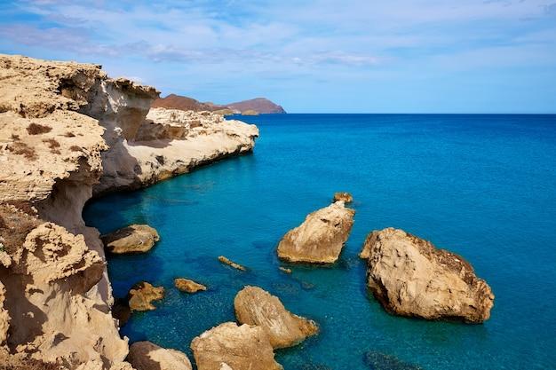 Almeria in cabo de gata los escullos beach spain