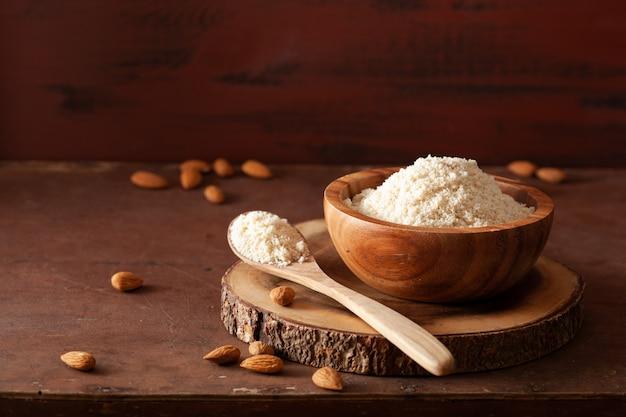 Миндальная мука. полезный ингредиент для кето палео безглютеновой диеты