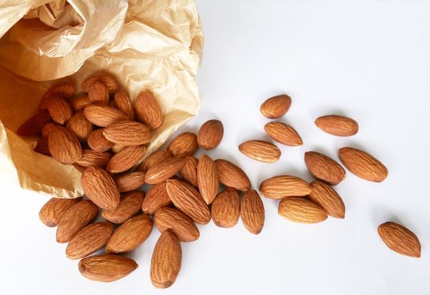 Almonds duper nutritious and healthy food.
