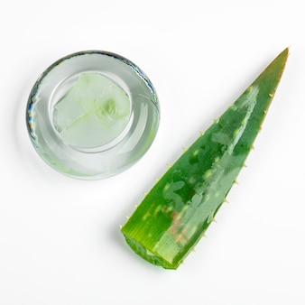 Aloe vera and gel