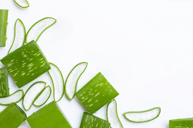 Aloe vera is a popular medicinal plant for health and beauty