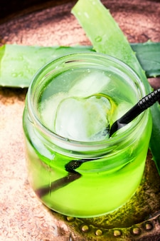 Aloe vera juice healthy drink