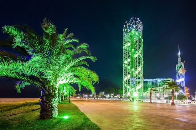 Alphabetic tower, batumi