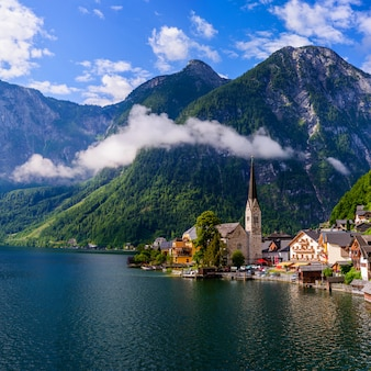 Alpine village hallstatt