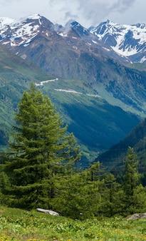 Alps mountain passo del san gottardo or st