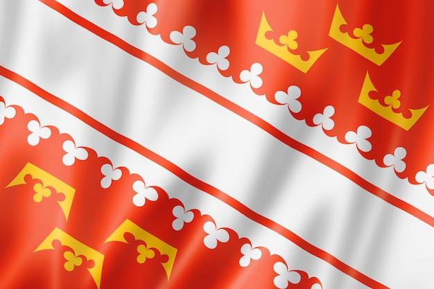 Alsace region flag, france