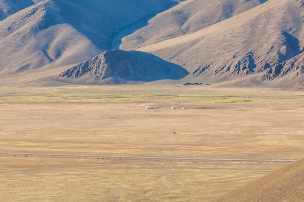 Altai tavan bogd national park in bayar-ulgii, mongolia.