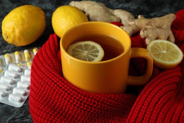Alternative cold treatment, close up