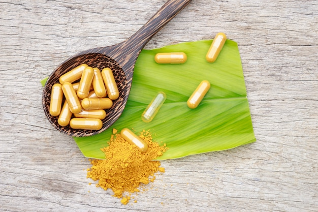 Alternative herbal supplement from herb for health care eating