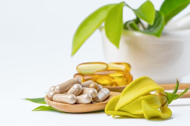 Alternative medicine herbal organic.