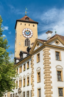 Altes rathaus, the old town hall in regensburg