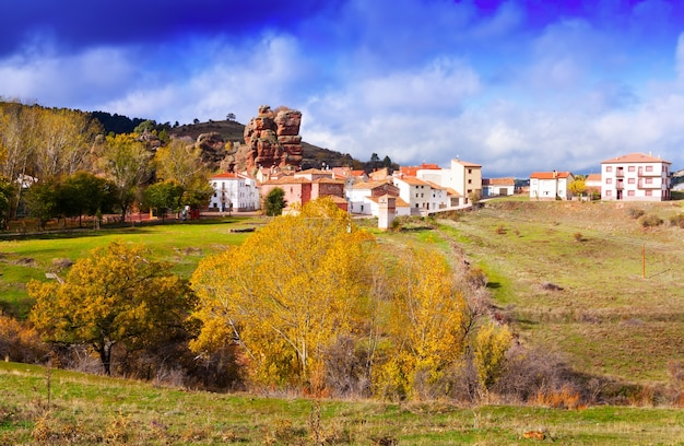 Alto tajo in autumn, spain