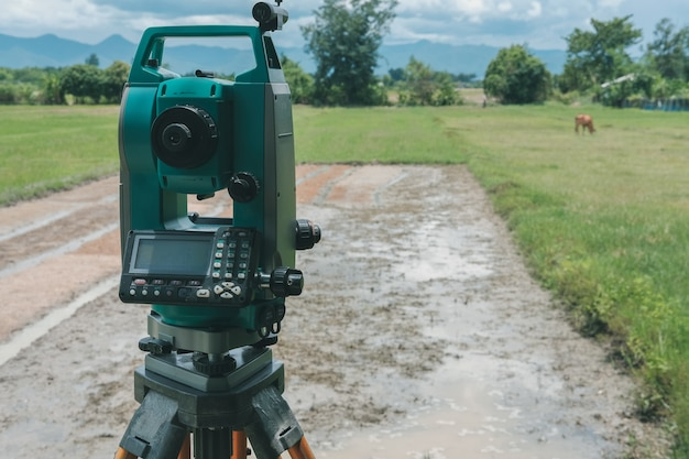 Altometer for land surveyor.