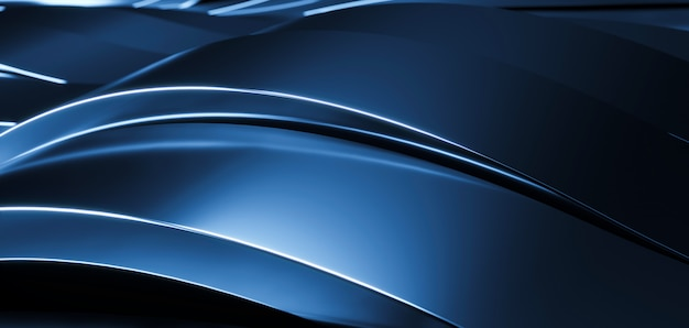 Aluminum abstract background