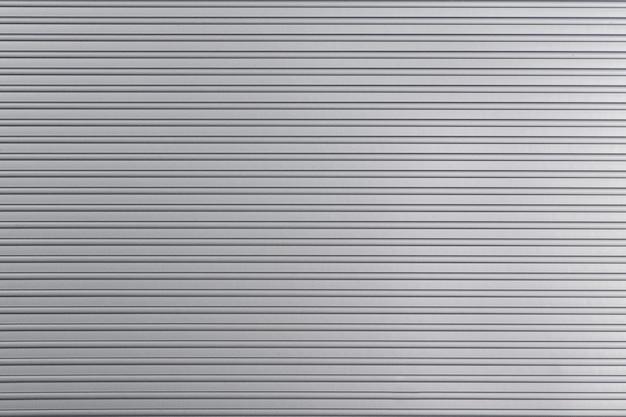 アルミニウム抽象的なシルバーストライプの背景