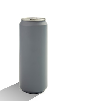 Aluminum blank can isolated