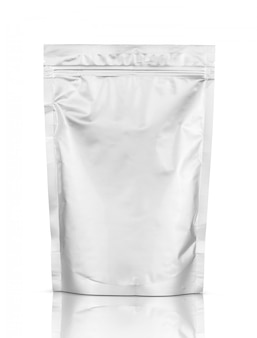 Aluminum foil zipper pouch for food packaging