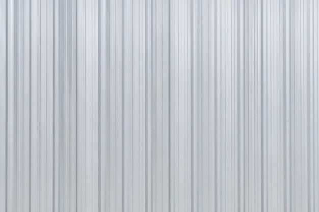 Aluminum metal corrugated wall texture surface corrugated.